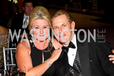 Photo by Tony Powell. Norma and Russ Ramsey. Charity Works Dream Ball. National Building Museum. October 2, 2010