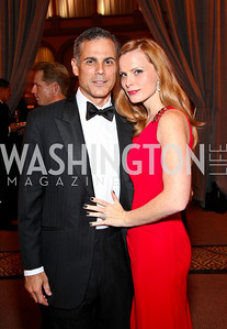 Photo by Tony Powell. Curtis and Amanda Polk. Charity Works Dream Ball. National Building Museum. October 2, 2010