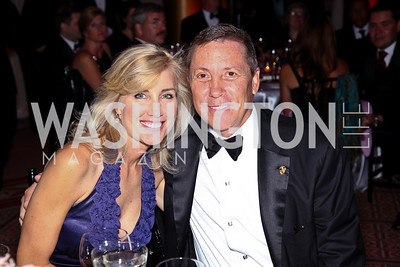 Photo by Tony Powell. Laurie Holcombe, Joe Robert. Charity Works Dream Ball. National Building Museum. October 2, 2010