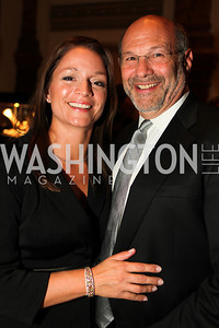 Ellen Forte, Michael Kane. A Night at the Museum Chas Schwartz & Son celebrate Beaudry. Photos by Alfredo Flores.