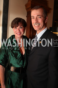 Kathleen Pastor, Paul Pastor. A Night at the Museum Chas Schwartz & Son celebrate Beaudry. Photos by Alfredo Flores.