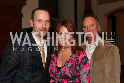 Kert Blodgett, Christine Weinberg, Jim Weinberg. A Night at the Museum Chas Schwartz & Son celebrate Beaudry. Photos by Alfredo Flores.