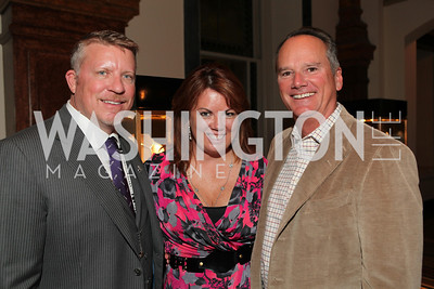 Michael Beaudry, Christine Weinberg, Jim Weinberg. A Night at the Museum Chas Schwartz & Son celebrate Beaudry. Photos by Alfredo Flores.