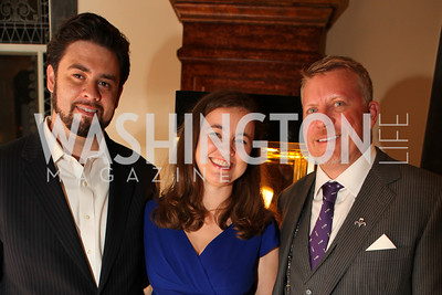 Brook Brown, Matt Bailey, Michael Beaudry. A Night at the Museum Chas Schwartz & Son celebrate Beaudry. Photos by Alfredo Flores.  A Night at the Museum Chas Schwartz & Son celebrate Beaudry. Photos by Alfredo Flores.