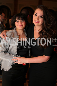 Nan Grigorian, Ashley Robinson. A Night at the Museum Chas Schwartz & Son celebrate Beaudry. Photos by Alfredo Flores.