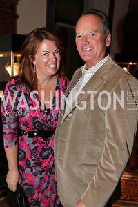 Christine Weinberg, Jim Weinberg. A Night at the Museum Chas Schwartz & Son celebrate Beaudry. Photos by Alfredo Flores.
