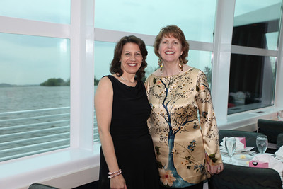 National Cherry Blossom Festival Chairman of the Board Susan E.S. Norton and President Diana Mayhew. Cherry Blossom Gala Dinner Cruise. Odyssey Cruise. April 8, 2010. Photos By Samantha Strauss.