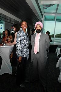 Michelle RhodesBrown, Manpreet Singh. Cherry Blossom Gala Dinner Cruise. Odyssey Cruise. April 8, 2010. Photos By Samantha Strauss.