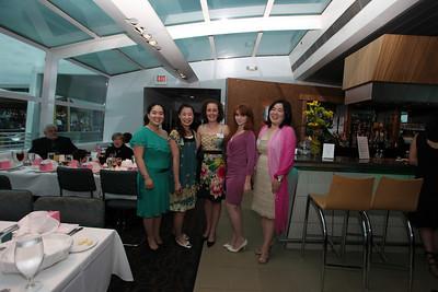 Heather Rogers, Emi Suzuki, Mari Suzuki, Katy Newhouse, Maki Yamada. Cherry Blossom Gala Dinner Cruise. Odyssey Cruise. April 8, 2010. Photos By Samantha Strauss.