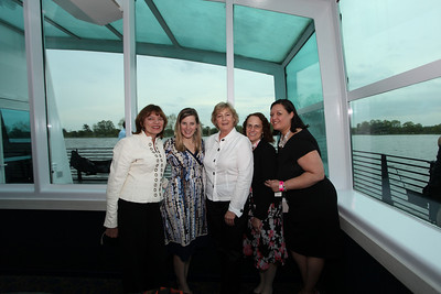 Carmelia Mazard, Carol Brewer, Gail Morris, Angela Hoffman, Susan Baka. Cherry Blossom Gala Dinner Cruise. Odyssey Cruise. April 8, 2010. Photos By Samantha Strauss.