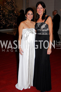 Sara O'Keefe,Debra Kraft,Choral Arts Gala,December 13,2010,Kyle Samperton