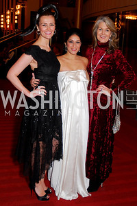 Amra Fazlic,Sara O'Keefe,Nini Ferguson,Choral Arts Gala,December 13,2010.Kyle Samperton