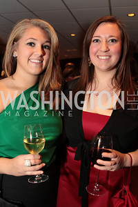Photo by Alfredo Flores. Lindsey Garra Ashley Antle . Choral Arts' Young Patrons Christmas Music Concert and after party at Rivers Restaurant at the Watergate. December 21, 2010.