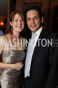 Photo by Alfredo Flores. Kara Mulholland Martin Corredera Silvan. Choral Arts' Young Patrons Christmas Music Concert and after party at Rivers Restaurant at the Watergate. December 21, 2010.