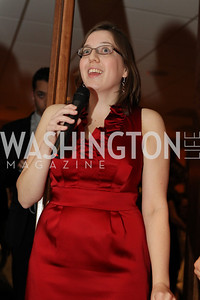 Photo by Alfredo Flores. Amy Moore. Choral Arts' Young Patrons Christmas Music Concert and after party at Rivers Restaurant at the Watergate. December 21, 2010.