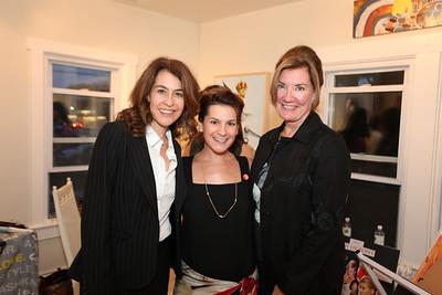 Maureen McCarthy, Jennifer Mapp, Angie Fox. Cibu And Covet's Girls' Night Out. May 12th, 2010. Photos By Samantha Strauss.