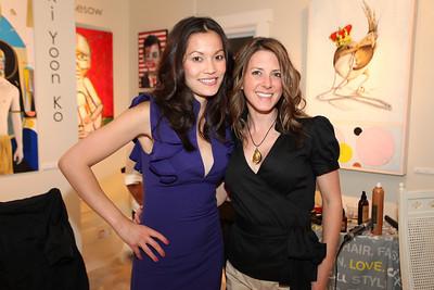 Michelle Nguyen, Jennifer Caugh. Cibu And Covet's Girls' Night Out. May 12th, 2010. Photos By Samantha Strauss.