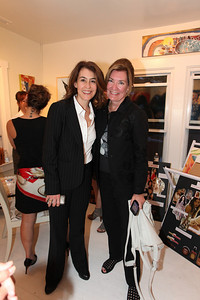 Maureen McCarthy, Angie Fox. Cibu And Covet's Girls' Night Out. May 12th, 2010. Photos By Samantha Strauss.