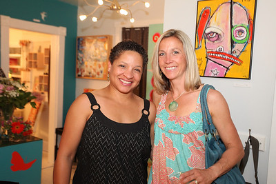 Catrina Moran, Amy Westhoff. Cibu And Covet's Girls' Night Out. May 12th, 2010. Photos By Samantha Strauss.