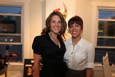Jenny Sherman, Jennifer Caugh. Cibu And Covet's Girls' Night Out. May 12th, 2010. Photos By Samantha Strauss.