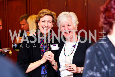 "Photo by Tony Powell. Jean McCaw, Sabine Gnesdiloff. Cocktail reception to celebrate the success of the Joan Hisaoka ""Make a Difference"" Gala. Life with Cancer Center. December 9, 2010"