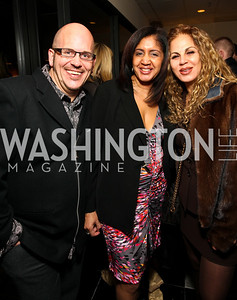 Brian Washburn and Kay Wright of Robert Andrew Salon and Spa and Luxxery Medical Boutique's Hiba Hakki.