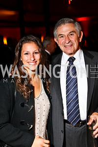 Photo by Tony Powell. Rachel and Paul Wolfowitz. DC Jazz Festival Annual Benefit Dinner. Italian Embassy. October 5, 2010