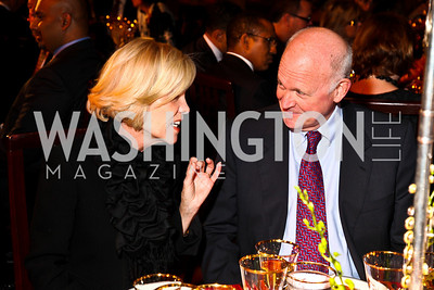 Photo by Tony Powell. Connie Harriman-Whitfield, Michael Pillsbury. DC Jazz Festival Annual Benefit Dinner. Italian Embassy. October 5, 2010