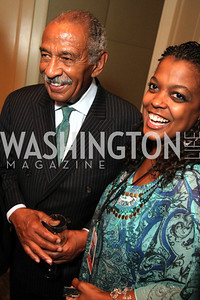 Congressman John Conyers, DC Jazz Festival Chief Operating Officer Sunny Sumter