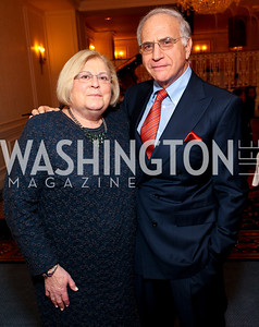 Linda and Michael Sonnenreich. A dinner and concert in support of the 2010 DC Jazz Festival. The Madison Hotel. October 27, 2009. photos by Tony Powell