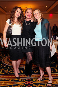 Danielle Rappaport, Sonya Bernhardt, Michal Fishman. A dinner and concert in support of the 2010 DC Jazz Festival. The Madison Hotel. October 27, 2009. photos by Tony Powell