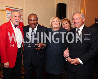 Paquito D'Rivera, Freddy Cole, Linda Sonnenreich, Maria Felice Mekouar and Amb. Aziz Mekouar. A dinner and concert in support of the 2010 DC Jazz Festival. The Madison Hotel. October 27, 2009. photos by Tony Powell