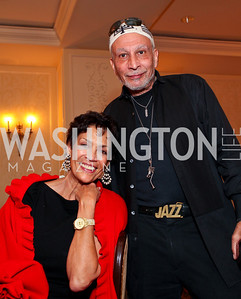 Anne Ashmore-Hudson, Charles Fishman. A dinner and concert in support of the 2010 DC Jazz Festival. The Madison Hotel. October 27, 2009. photos by Tony Powell