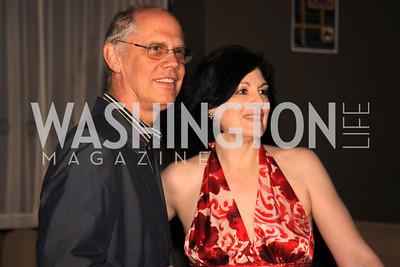 Washington Life Senior Editor Kevin Chaffee with Roxanne Roberts of the Washington Post's gossip column, The Reliable Source