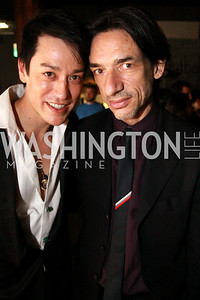 Dana Tai Soon Burgess with Septime Webre, artistic director of The Washington Ballet