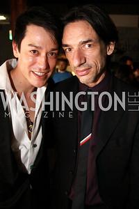Dana Tai Soon Burgess with Septime Webre, artistic director of The Washington Ballet