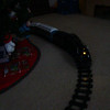 Aidan took this pic of the Polar Express