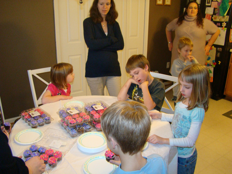 Abby's birthday party.