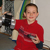 Jonathan likes the remote control car we got him