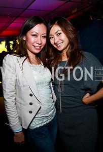 Photo by Tony Powell. Jennifer Sun, Anchyi Wei. Eden's Winter Rooftop Launch. November18, 2010