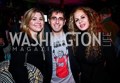 Photo by Tony Powell. Katy Adams, Micha Weinblatt, Hiba Hakki. Eden's Winter Rooftop Launch. November18, 2010