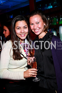 Photo by Tony Powell. Hayane Dahmen, Maria Troberd. Eden's Winter Rooftop Launch. November18, 2010