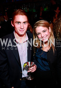 Photo by Tony Powell. Spencer Stone, Ariel Segal. Eden's Winter Rooftop Launch. November18, 2010