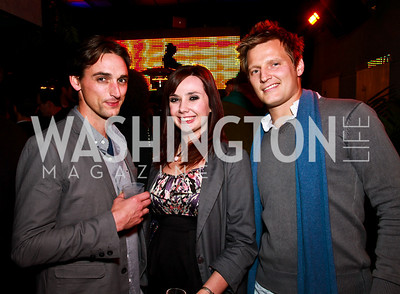 Photo by Tony Powell. Matt Bunch, Erin Coulehan, Matt Sullivan. Eden's Winter Rooftop Launch. November18, 2010