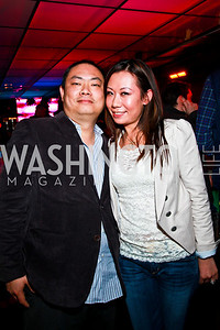 Photo by Tony Powell. Charles Zhou, Jennifer Sun. Eden's Winter Rooftop Launch. November18, 2010