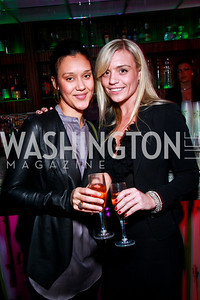 Photo by Tony Powell. Ava Stal, Tiffany Burns. Eden's Winter Rooftop Launch. November18, 2010