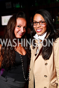 Photo by Tony Powell. Fran Holuba, Kyla Griffith. Eden's Winter Rooftop Launch. November18, 2010