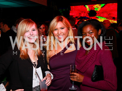 Photo by Tony Powell. Julia Glendening, Quin Woodward Pu, Kristina Griffin. Eden's Winter Rooftop Launch. November18, 2010