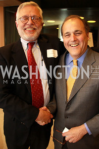 WTOP's Mark Plotkin, Bill Rice. Embassy Chef Challenge. March 18, 2010. Photos by Alfredo Flores