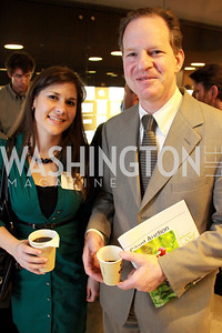 Capital Cooking's Lauren DeSantis, Paul Goldberg. Embassy Chef Challenge. March 18, 2010. Photos by Alfredo Flores.